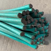 Pinos de cabo de aço inoxidável de plástico de nylon