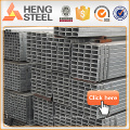 Alibaba steel galvanized square pipe Matériaux de construction