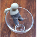 Little Tea Man para Tea Strainer Leisure High Tea Time