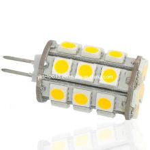 360deg 12V 27 5050 SMD Cápsula G4 LED Bombilla de luz