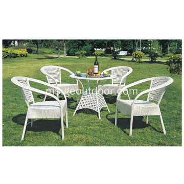 Rotan Furniture Set Garden Wicker KD Chairs