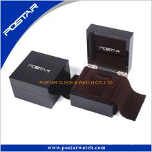 Caja de madera brillante del nuevo diseño de encargo profesional de lujo para el reloj