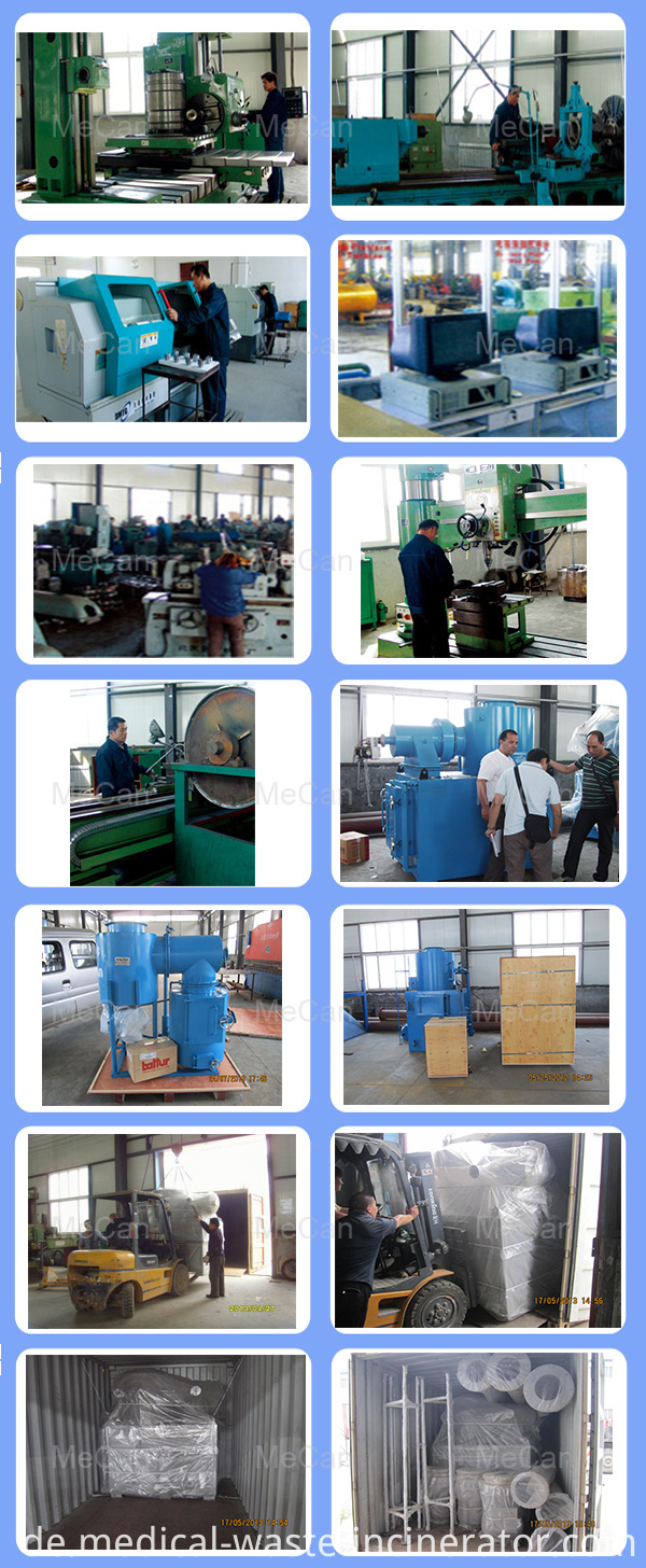 Medical Waste Incinerator Furnace