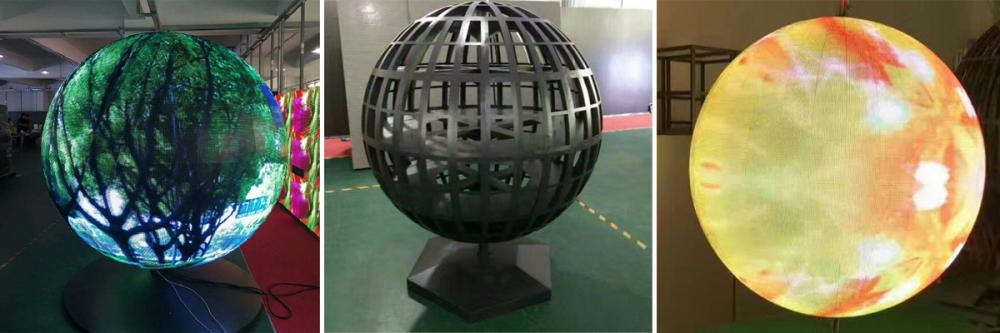 Ph4 Led Sphere Display Can Play All Round Videos And Pictures 1