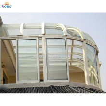 Room Slant Roof Sun Retractable Sunroom 4 Season