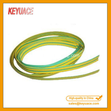 Kuning Hijau Heat Shrink Sleeving