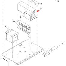 Panasonic SMT Power para la impresora de pantalla Sp60p-M (KXFP60QAA00)