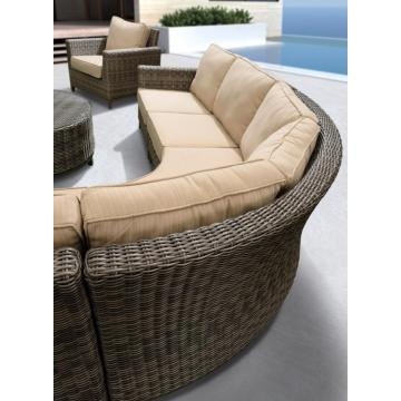 Patio Deep Soaking Outdoor Sofa
