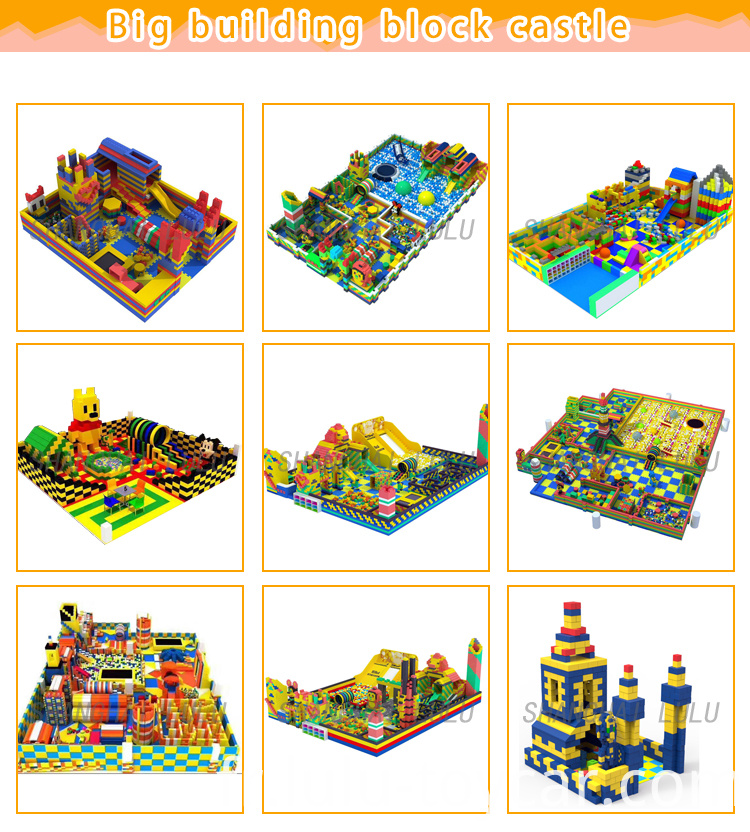 Big building block castle