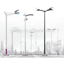 Construction municipale de rails de pôles de lumière extérieure