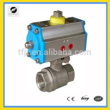 AC220V, actionneur pneumatique de soupape à double action de DC24V pour le traitement de l'eau
