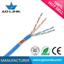 O melhor preço alta qualidade sftp cat5e cabo de rede cabo 24awg / cat5e