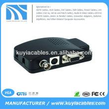 BNC S-Video para VGA Converter / Video Converter