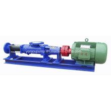 Pompe à vis rotative simple