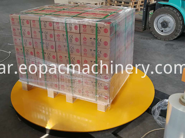 Stretch Fim Pallet Packing Machine