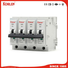 KORLEN KNB6-63 10ka Mini Circuit Breaker Plug-in Type MCB IEC / EN60898