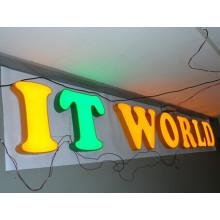Benutzerdefinierte LED Acryl Buchstaben Signage