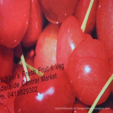 Nonwoven reusável impresso promocional da cor do polipropileno