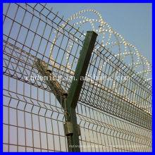 Espanha alto padrão de segurança do aeroporto cerca