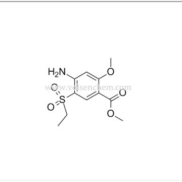 Cas 80036-89-1,2-Methoxyl-4-amino-5-ethylsulfonyl methyl benzoat Đối với Amisulpride Intermediates
