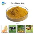 Un grado y pollo utilizan harina de gluten de maíz con embalaje a granel