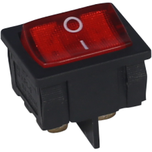 Rocker Switch dengan Panel