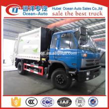 4X2 10CBM camiones de basura dimensiones para la venta