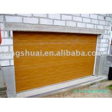 remote control sectional garage door