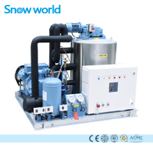 Machine à glace en paillettes Snow world 3T refroidie à l'eau