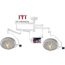 Double Dome Led Operation Theater Lamp Ceiling Medical Operating Shawdowless Surgery Lamp