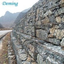 Rock Basket Wire Mesh / Australia Geweven Gabion Box Prijs