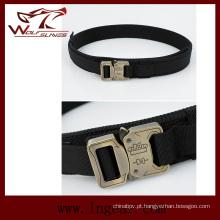 Nylon 1,5 polegadas Molle cintura cinto militar fivela para cinto Wargame