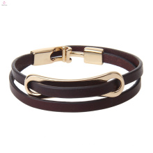 Frühlings-Saison-Mode-neue Art-Pers5onlichkeit-T-Haken-Frauen-Leder-Verpackungs-Armband