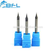 Moinho de extremidade das ferramentas de corte do CNC de BFL 3 milímetros, moinhos de extremidade diminutos das ferramentas de corte do carboneto