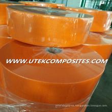 Malla de fibra de vidrio 75G / M2 4X4 naranja