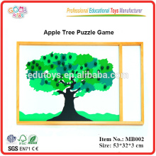 Montessori Puzzle - Apple Tree Puzzle Game