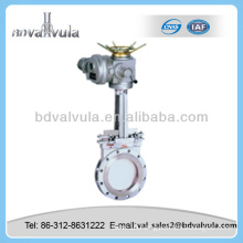 casting rising stem knife-gate valve