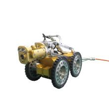 Sistema de Câmera de Oleoduto com Linha de Gás e Óleo
