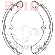 Brake Shoe (K2316) for Toyota
