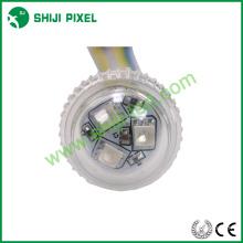 Point 25mm LED pixel light 3leds rgb 18/19mm base size /punching hole