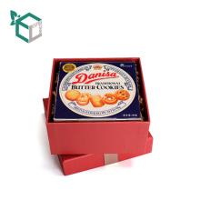 Высокая-конец подарочная коробка упаковки печенья с ленты ленты