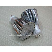 high power led spotlight gu10/mr16 6w 7w 3*2W