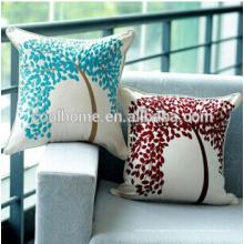 Travesseiro Perfeito Almofada de Vime Loveseat Sólido Vermelho Interior / Exterior