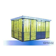 Box Type Combined Substation Wooden Strip Enclosure Ghm-02 Box-Type
