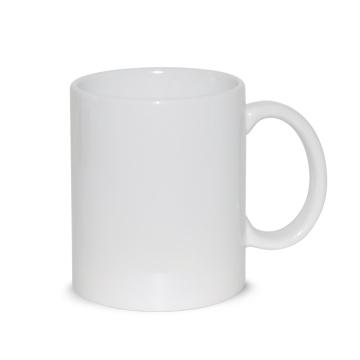 Фарфоровая керамическая кружка белого кофе класса А для сублимации