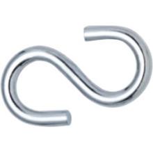 """Zuverlässige Qualität Metall Edelstahl """"S"""" Haken Hardware"""