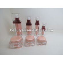 15ml Square acrylic lotion containers