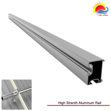 6063 T5 Series High Strenth Aluminum Rail with Solar Mounting System (ID0003)