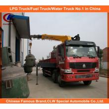 Heavy Duty XCMG 16 Tons Hydraulic Telescopic Boom Truck Mounted Crane