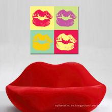 Hot Lips Pop Art Diseñadores de moda